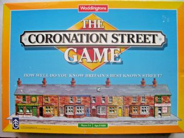 Coronation Street Game By Waddingtons 1995